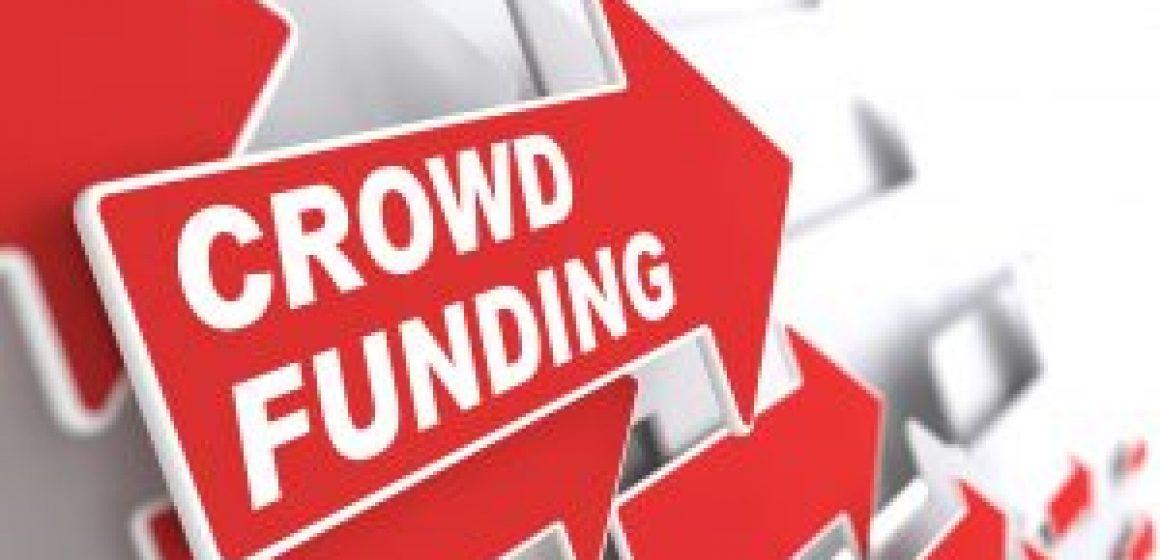 Crowd Funding. Internet Concept.